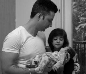 Newborn Hospital Photoshoot Delhi Fortis LaFemme Shipra Amit Chhabra